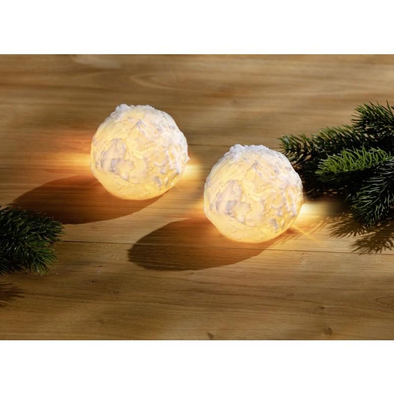 LED snehová guľa