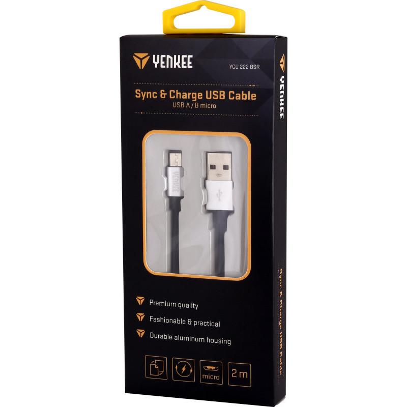 Kabel USB do synchronizacji i ładowania 2m onerror=