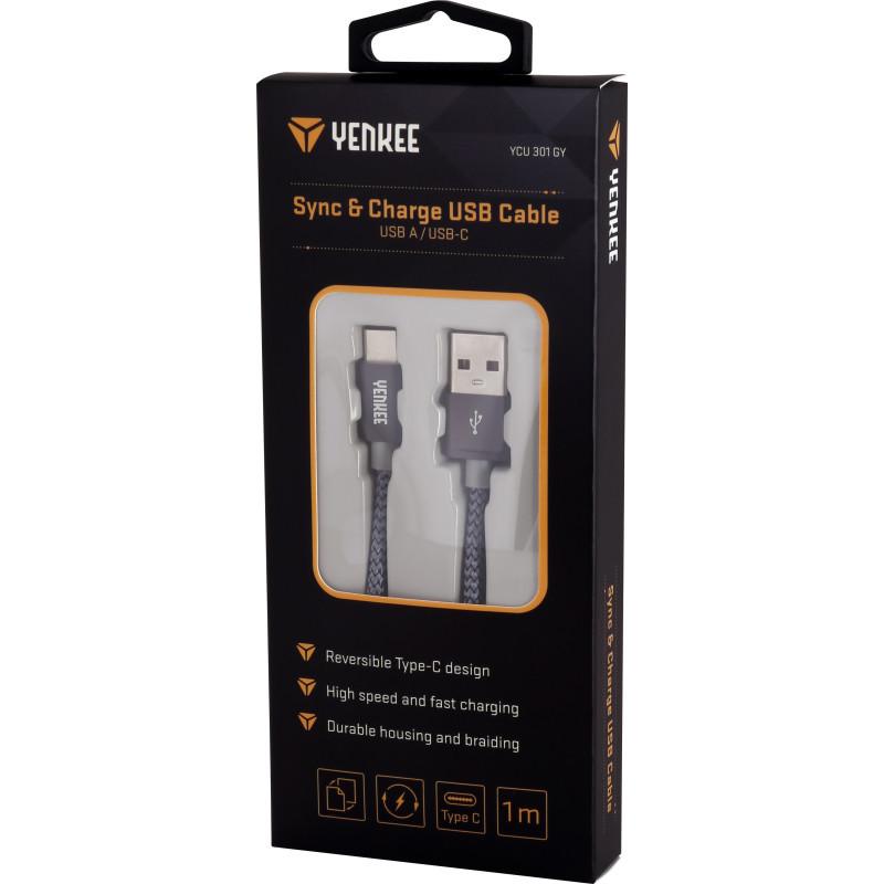 Kabel USB do synchronizacji i ładowania typu C 1m onerror=