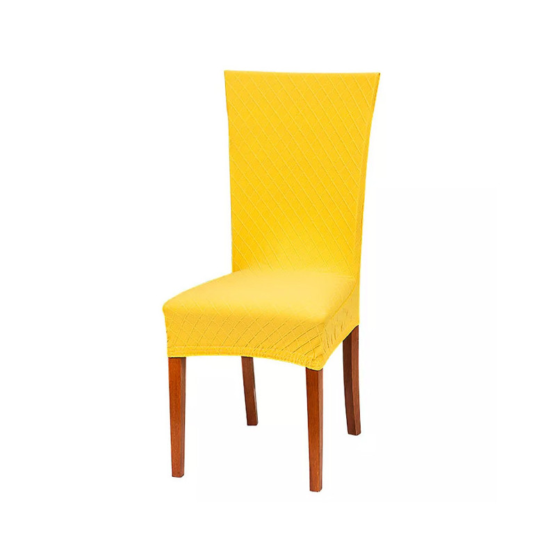 Pokrowiec na krzesło w kratkę onerror=