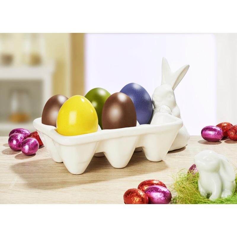 Porcelánový stojánek na 6 vajíček onerror=