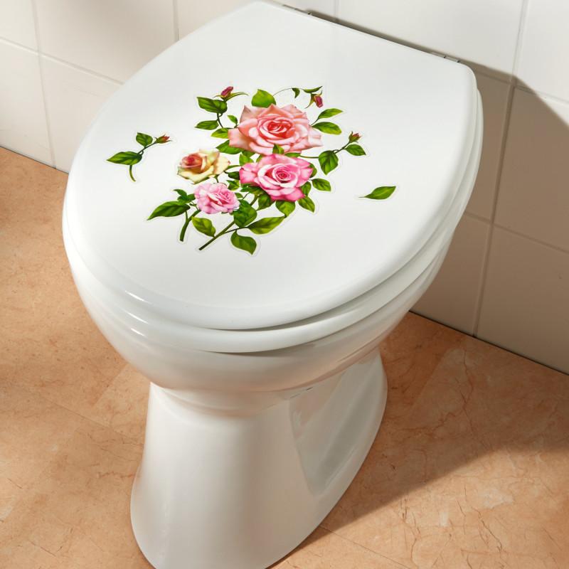2dílná nálepka na WC