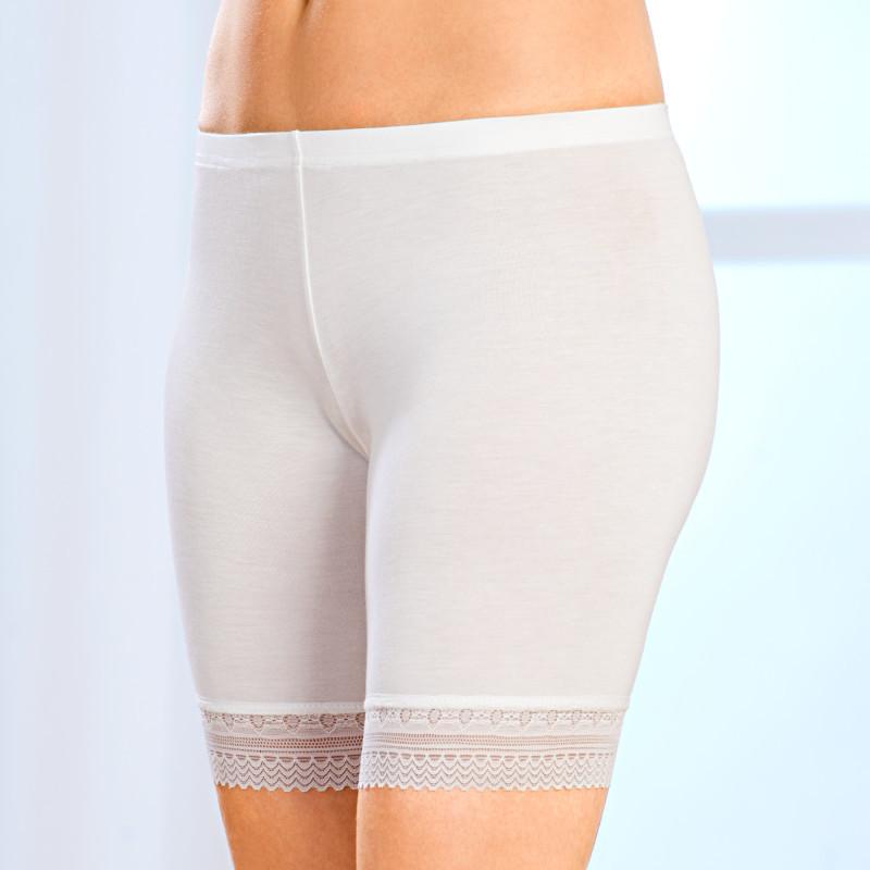 Nohavičky, biela