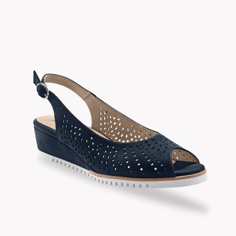 Sandále s otvorenou špičkou