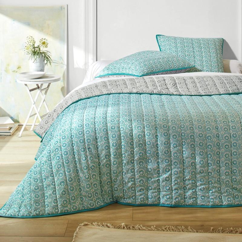 Prikrývka na posteľ s potlačou