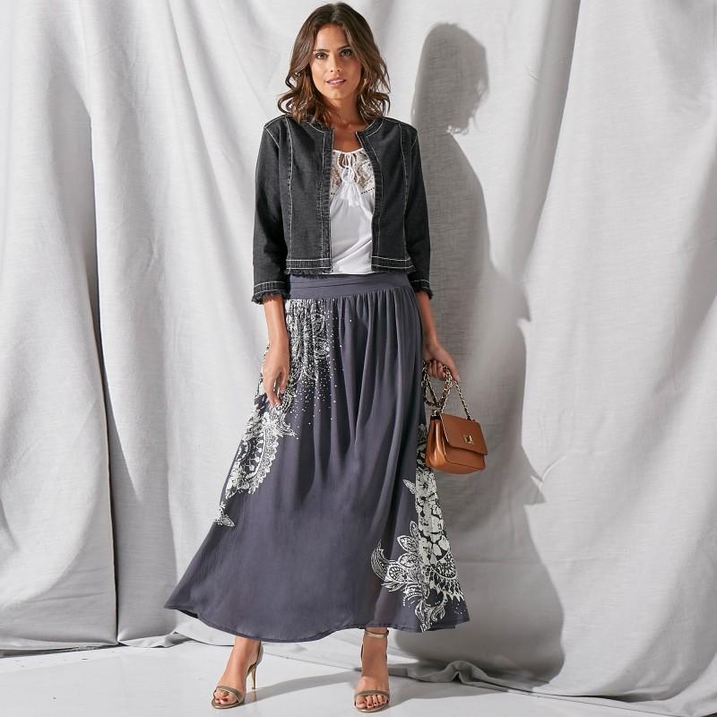 Široká sukně