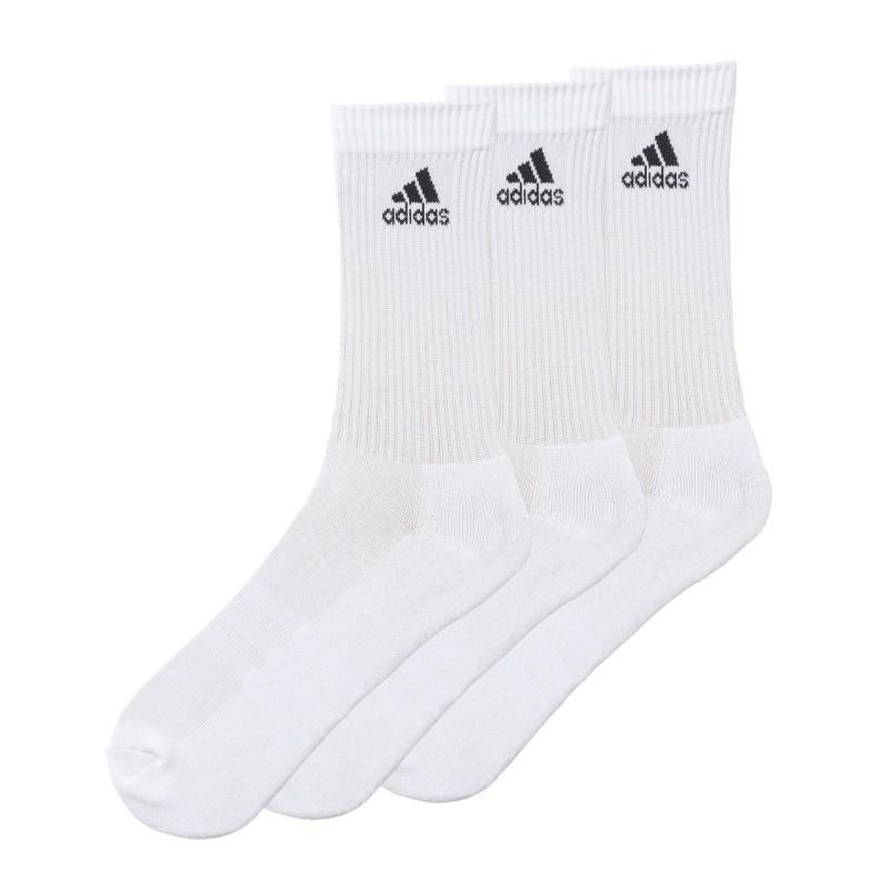Ponožky Adidas, bílé, sada 3 párů