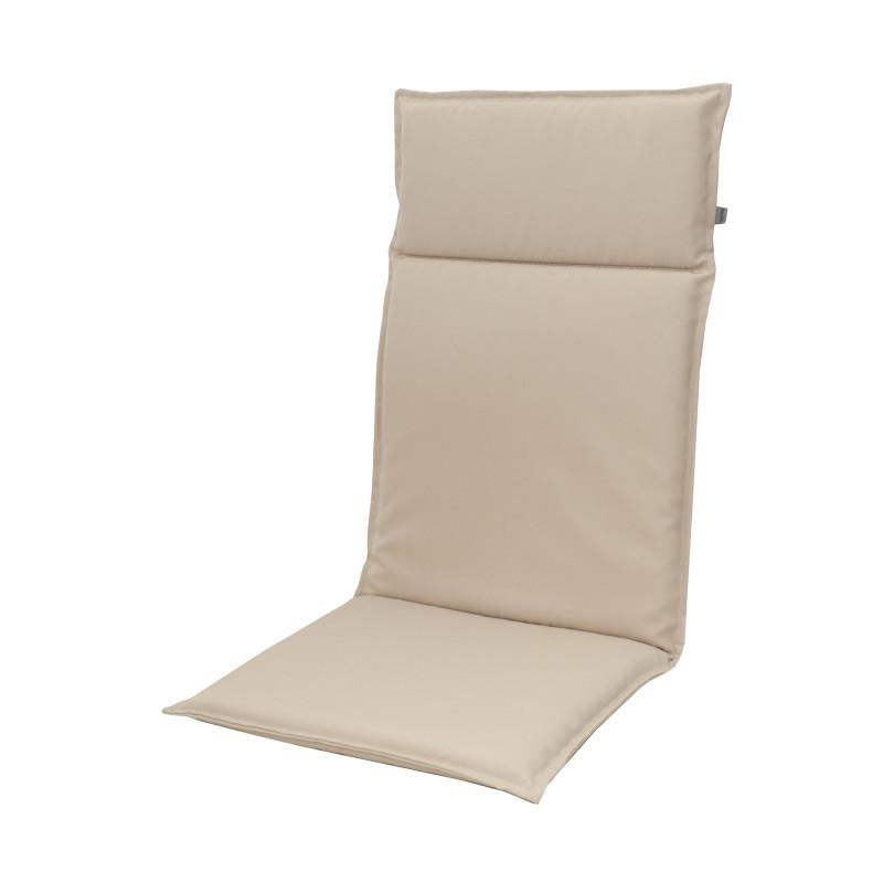 Polstrovaný sedák s vysokou opěrkou