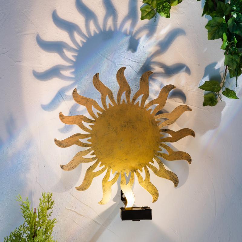 Solární nástěnné světlo