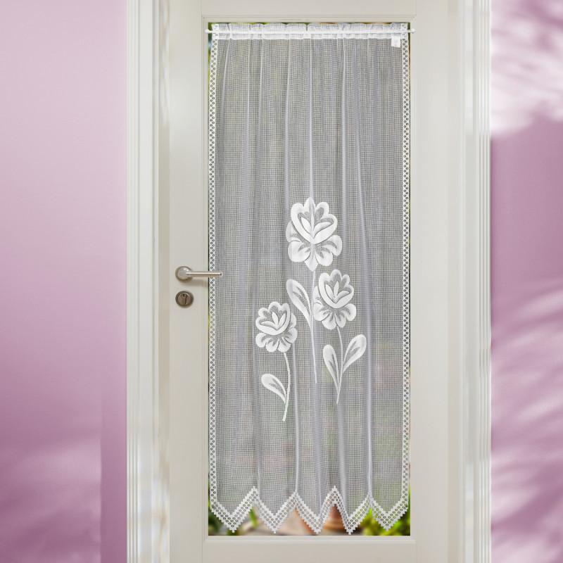 Záclona na dveře