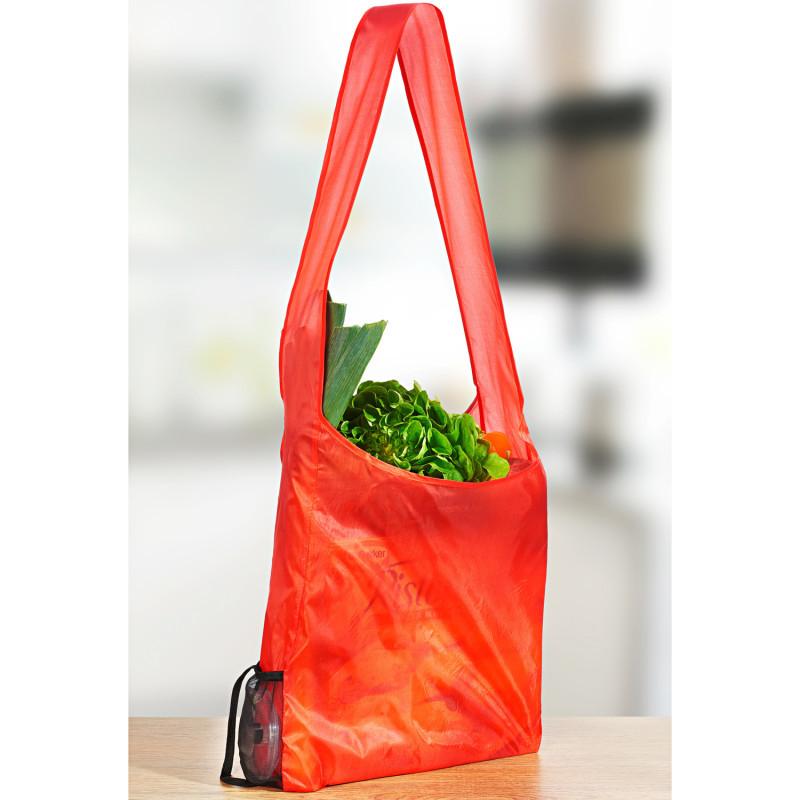 Zrolovaná nákupná taška