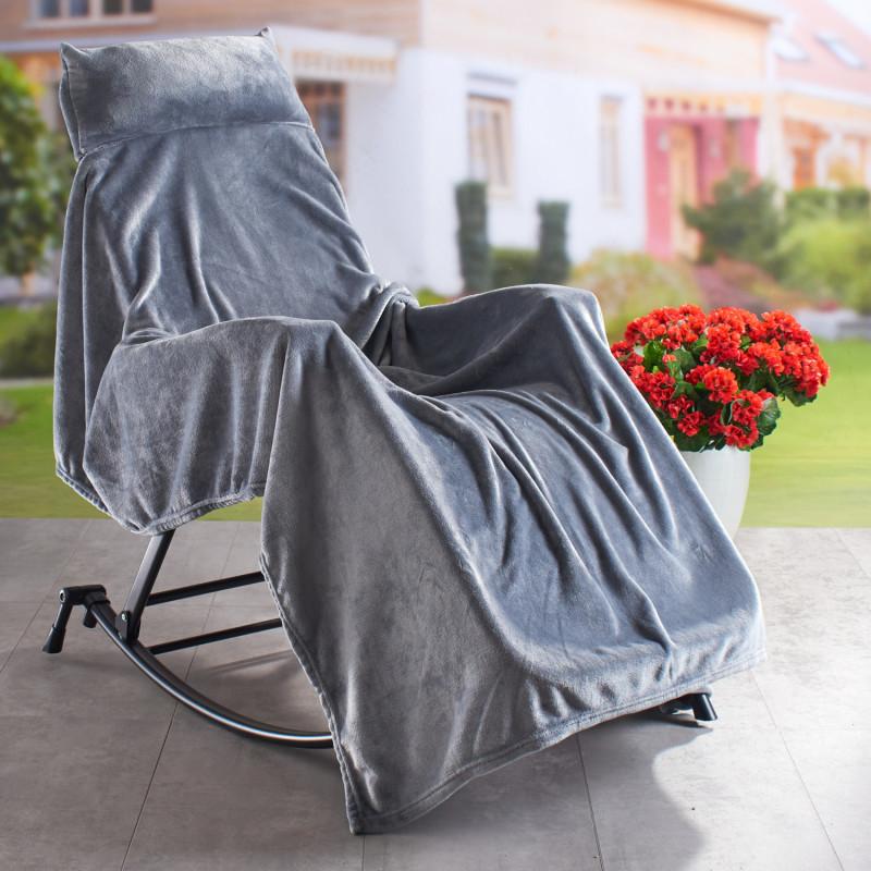 Jemná deka s polštářkem onerror=