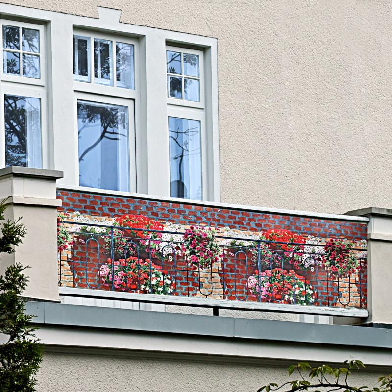 Balkónová zástena