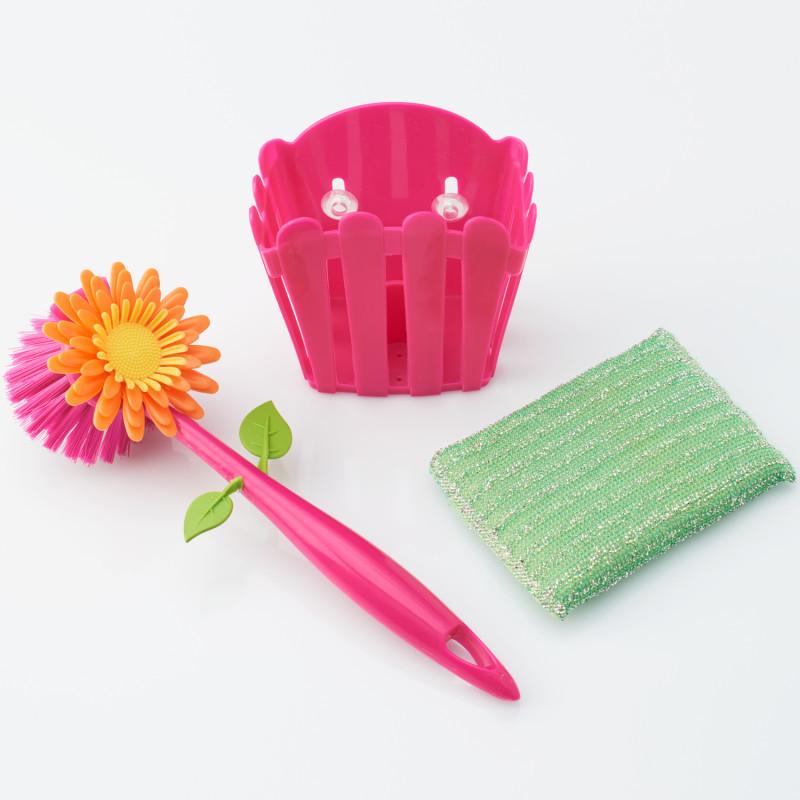 3dílná sada na mytí nádobí  Květináč onerror=