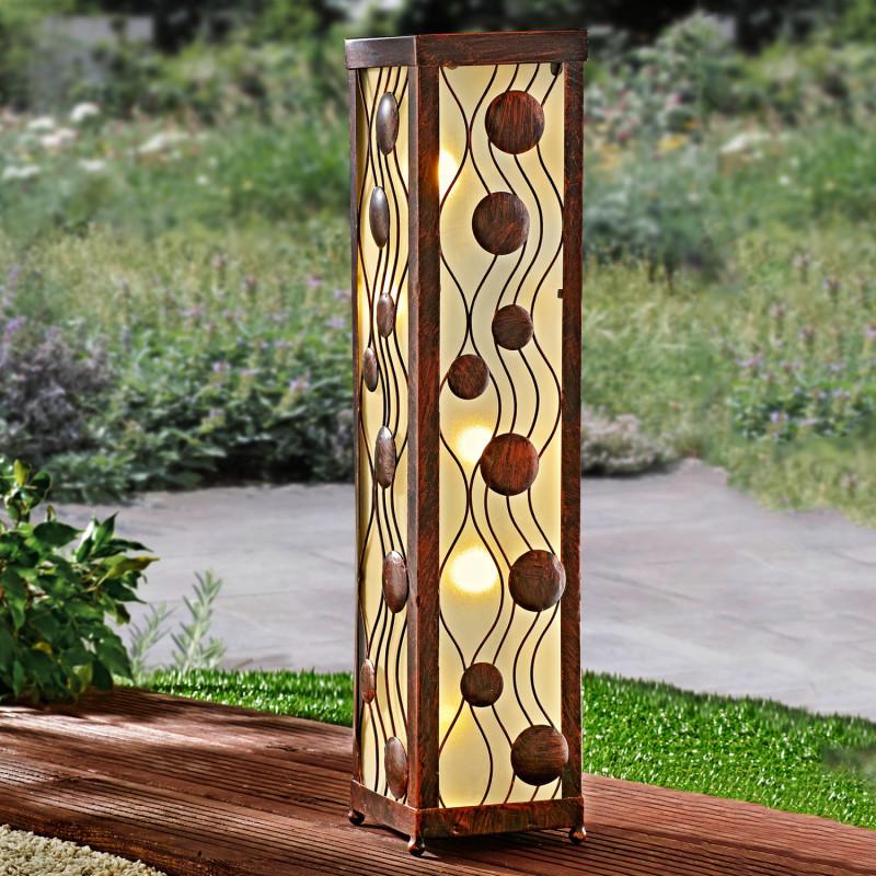 Solárny dekoratívny stĺp
