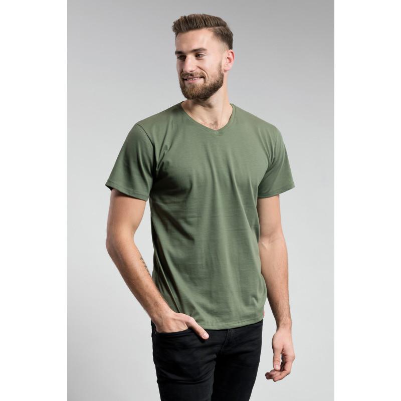 Pánské triko CITYZEN s výstřihem do V
