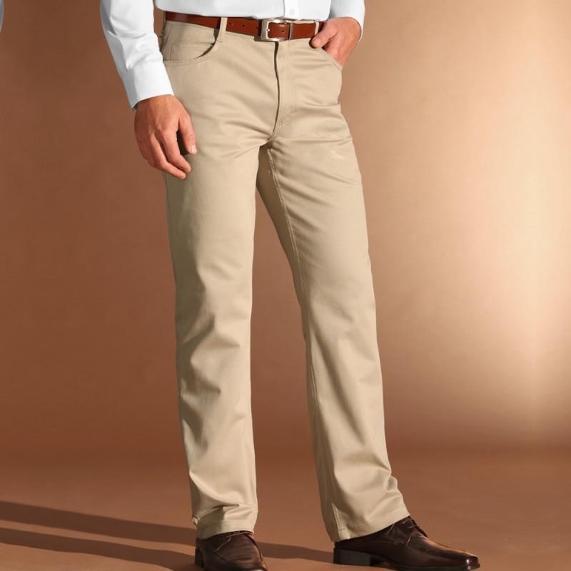 Nohavice s 5 vreckami, dĺžka nohavíc 82 cm