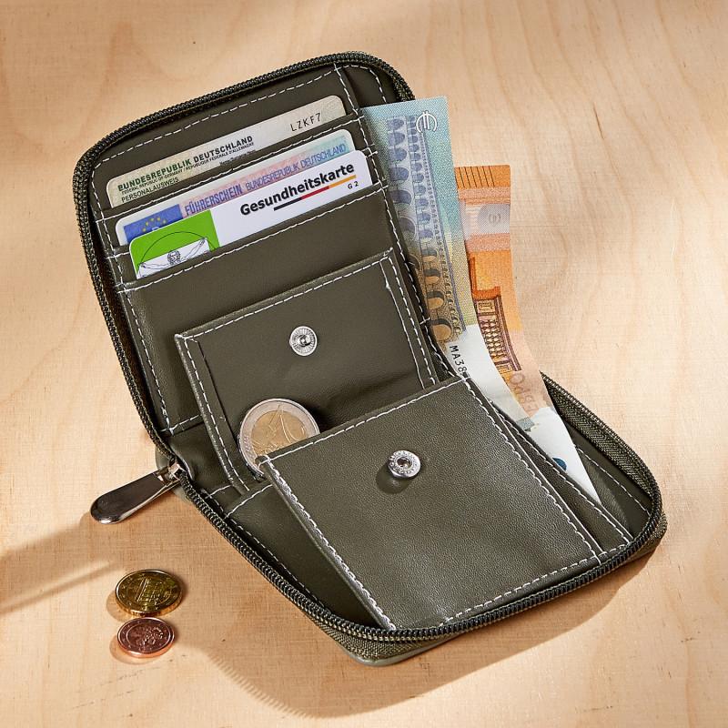 Portmonetka z ochroną RFID onerror=