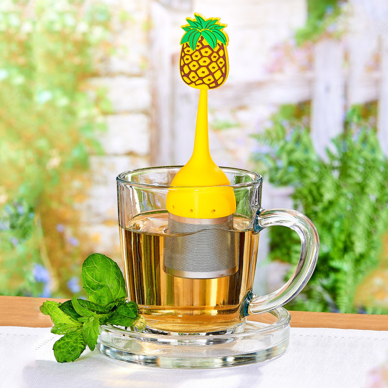 Zaparzacz do herbaty Ananas onerror=