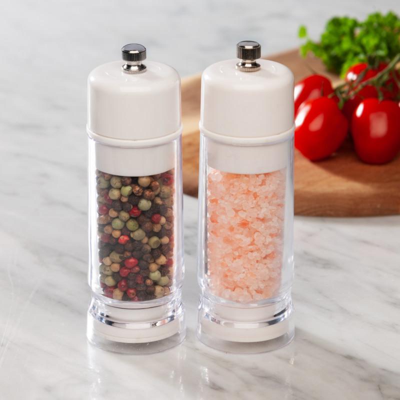 2 mlýnky na pepř a sůl