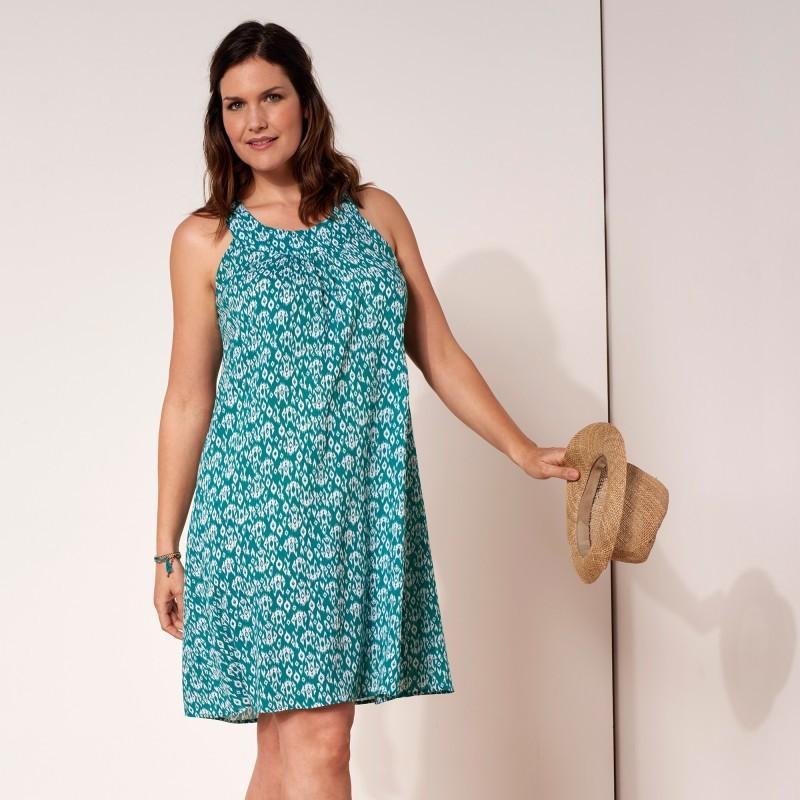 Šaty s grafickou potlačou