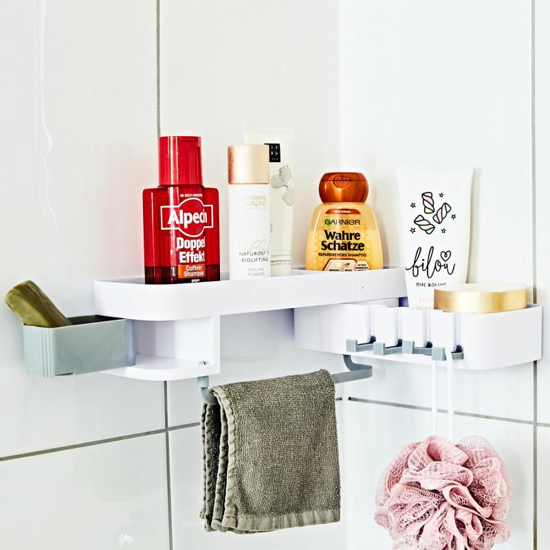 Prysznicowy stojak na kosmetyki onerror=