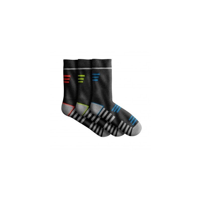 Športové ponožky, sada 3 páry
