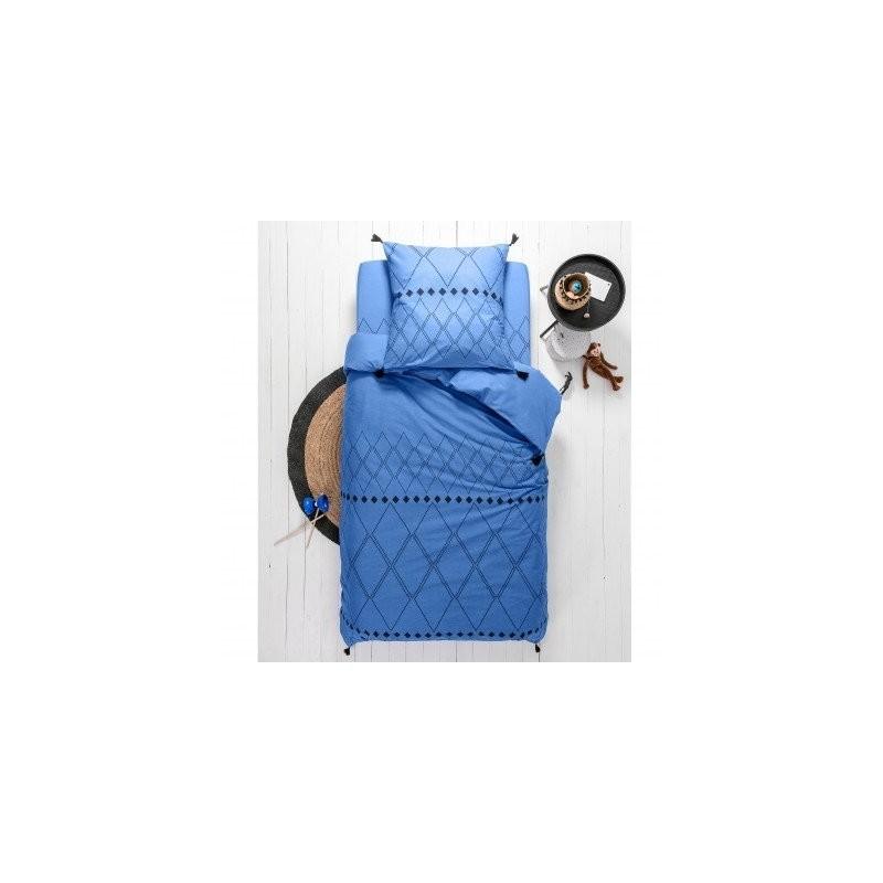 Detská posteľná bielizeň Massai, bavlna, potlač s grafickým vzorom zakončená str