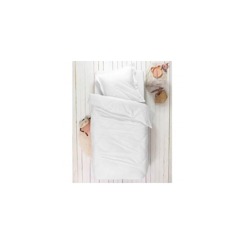 Detské jednofarebná posteľná bielizeň, bio bavlna