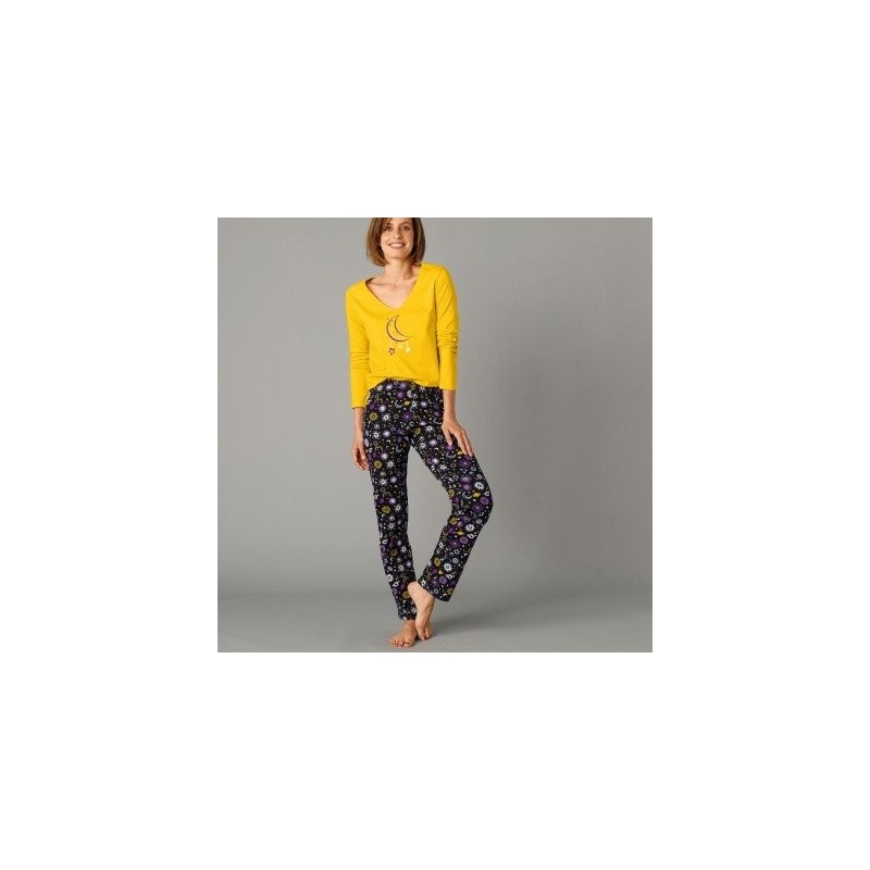 Pyžamové nohavice s potlačou