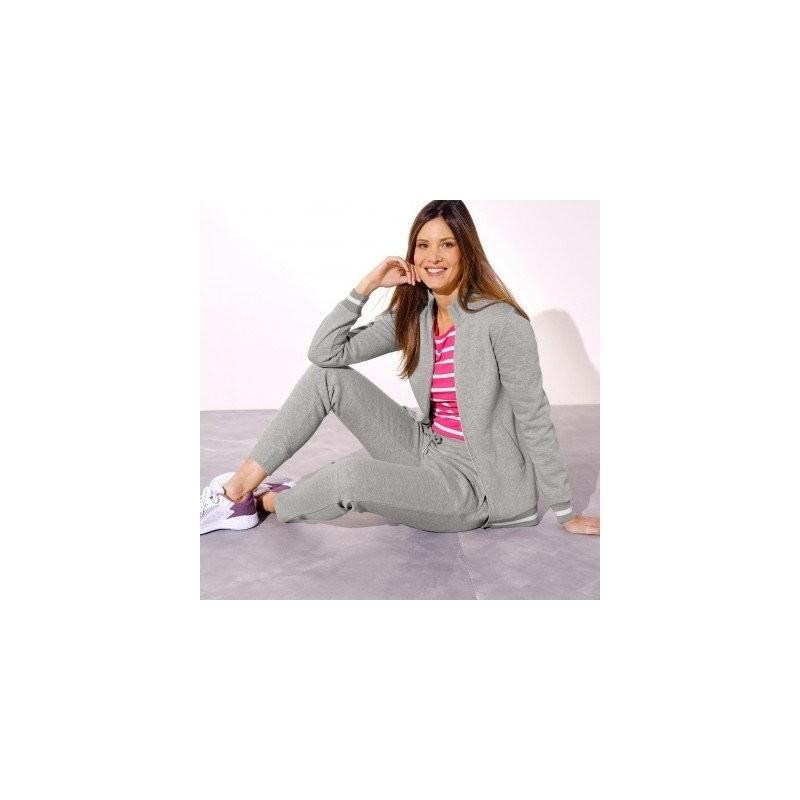 Meltonová bunda na zips so stojačikom