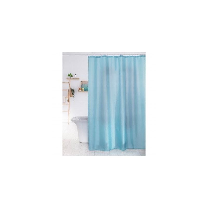 Jednofarebný kúpeľňový záves
