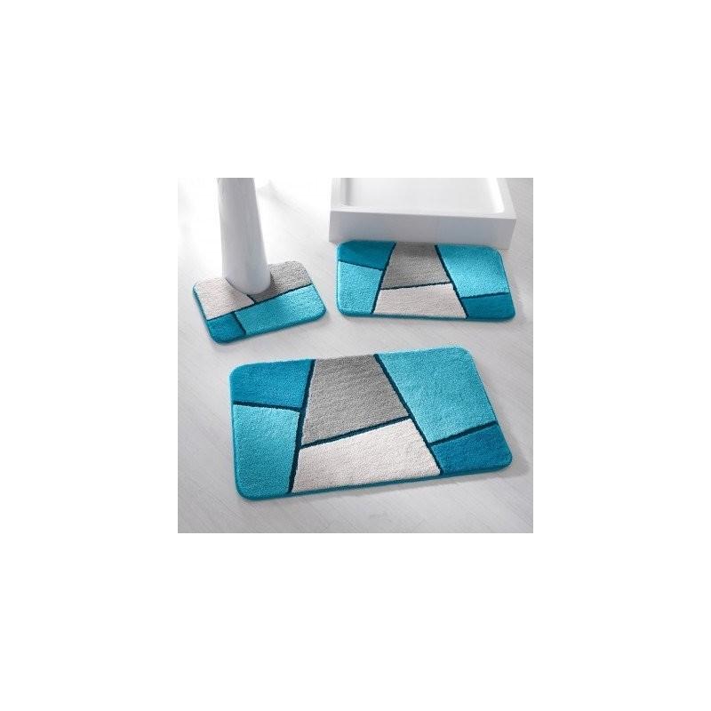 Kúpeľňová predložka s geometrickým vzorom