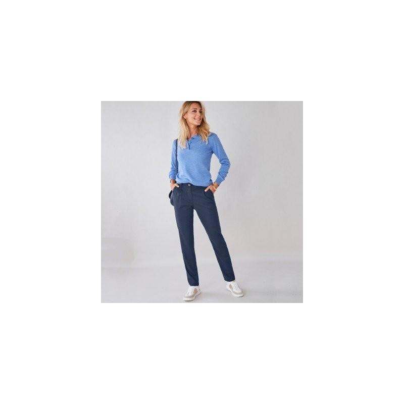 Chino jednofarebné nohavice
