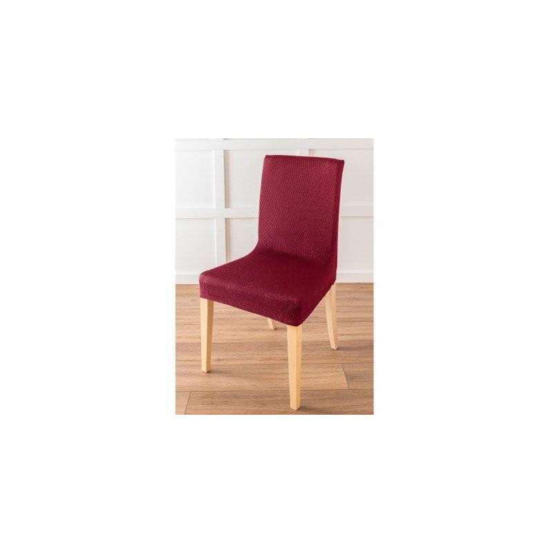Jednofarebný poťah na stoličku s optickým efektom, na sedadlo a operadlo alebo l
