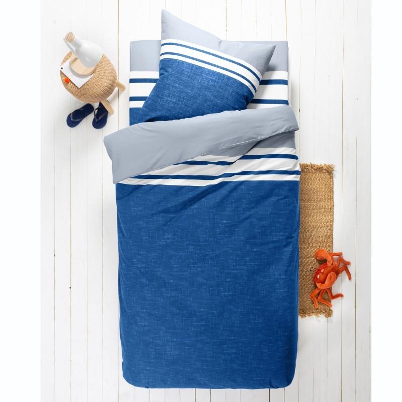 Detská posteľná bielizeň Nathalie, bavlna, melírovaná potlač