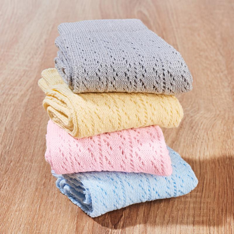 4 páry ažurových ponožek onerror=