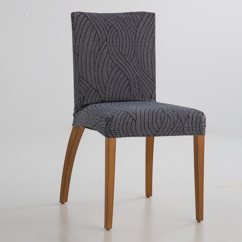 Žakárový bi-pružný potah na židli