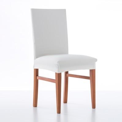 Jednobarevný bi-pružný potah na židli