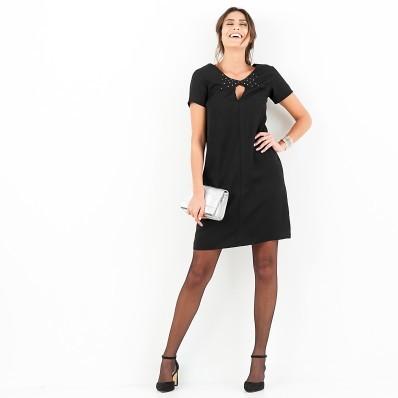 Šaty s krátkými rukávy