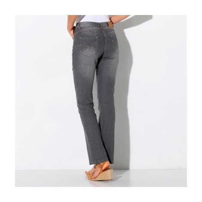Rovné džíny s push-up efektem, pro vyšší postavu