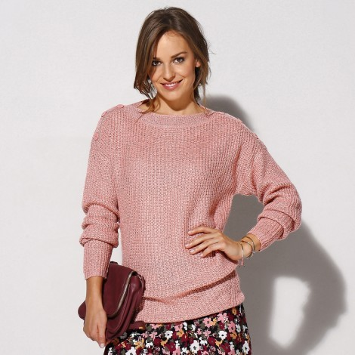 Třpytivý pulovr