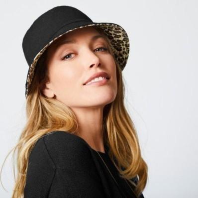Oboustranný klobouk do deště