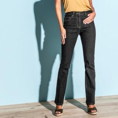 Rovné džínsy pre nízku postavu