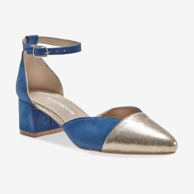 Dvojfarebné sandále