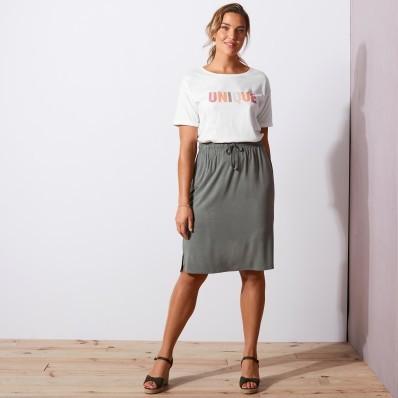 Úpletová krátká sukně