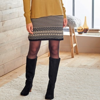 Žakárová sukně