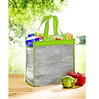 Chladicí taška 2 v 1, zelená