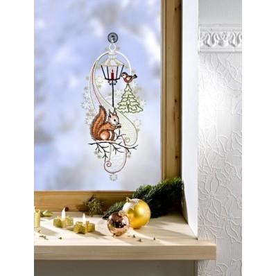 """Okenná dekorácia """"Veverička"""""""