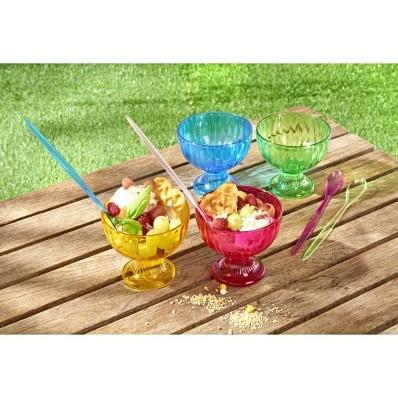 4 dezertní poháry